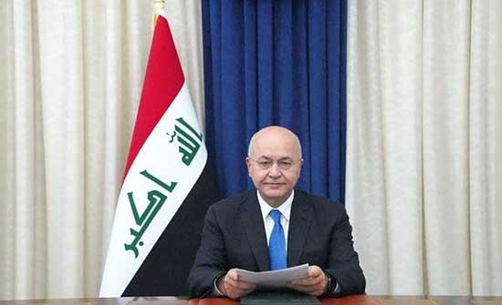 الرئيس العراقي يحذر من تهديدات محتملة لتنظيم داعش