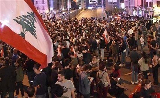 احتجاجات لبنان.. جرحى ببيروت ودعوة للعصيان بطرابلس