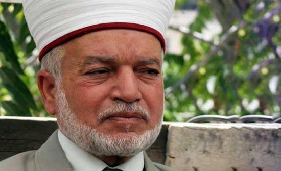 مفتي القدس يناشد العرب والمسلمين لإنقاذ الاقصى