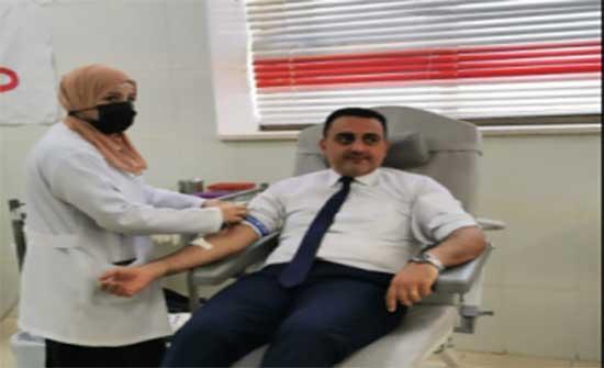 جامعة إربد الأهلية تقيم حملة للتبرع بالدم