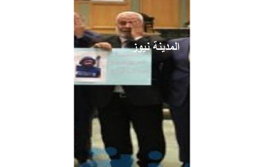 وثيقة : أبو السيد يطلب منح الصحفي معاذ اعفاء طبيا ليتعالج بالاردن