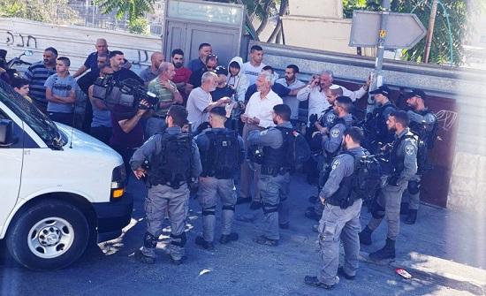 السلطة الفلسطينية تطالب بالتدخل الفوري لوقف جرائم الاحتلال بحي البستان