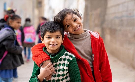 40 بالمئة من سكان الأردن .. أطفال