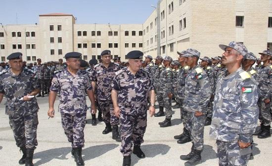 اللواء البزايعه يتفقد مركز تدريب دفاع مدني الجنوب
