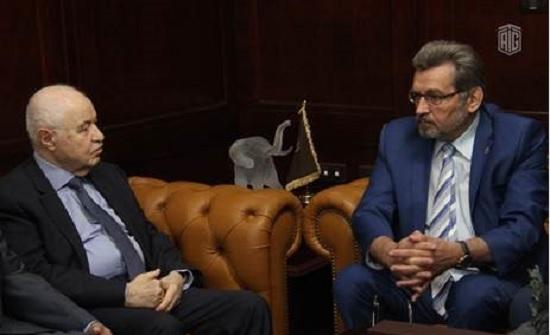 """""""أبوغزاله"""" توقع مذكرة تفاهم مع الأكاديمية الروسية للملكية الفكرية"""