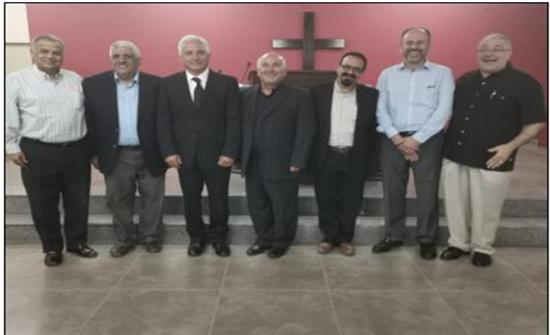 مجمع الكنائس الإنجيلي الأردني يختار القس حابس النعمات خلفاً للباشا عماد معايعة