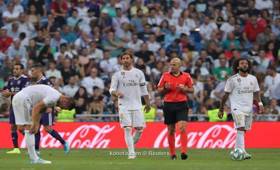 بالصور.. ريال مدريد يتعثر أمام بلد الوليد