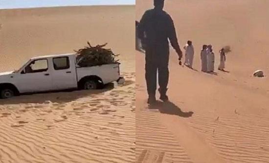مفقود وادي الدواسر عثر عليه متوفيا وهو ساجد  .. فيديو
