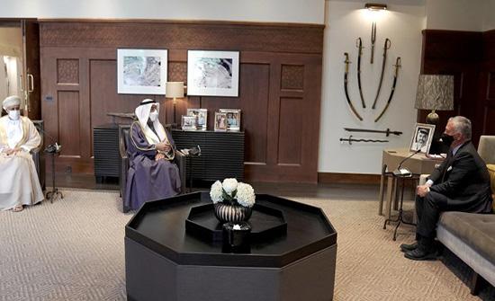الملك يستقبل الأمين العام لمجلس التعاون لدول الخليج العربية