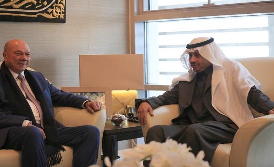 رئيس الاعيان يشيد بعمق العلاقات الأردنية السعودية