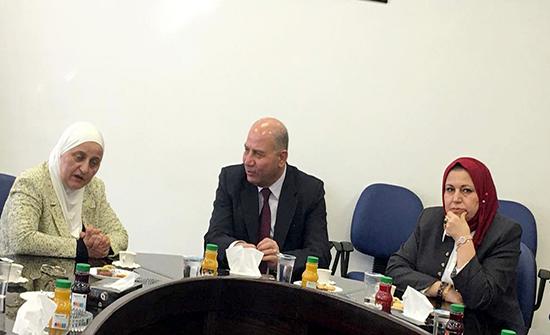 وزير العدل العراقي يزور المعهد القضائي ويطّلع على تجربته