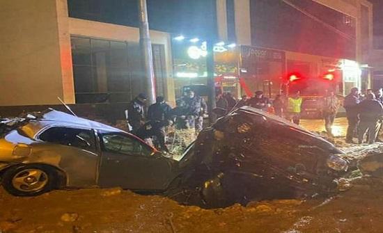 صور  : وفاة اثر حادث تصادم في عمان