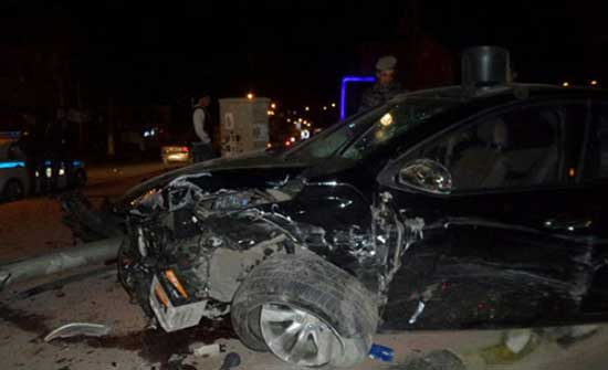 وفاة سيدة وإصابة ثلاثة آخرين اثر حادث تدهور في إربد