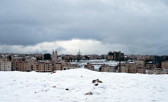 طقس العرب : تساقط الثلوج على الأردن الأربعاء مرجح وغير مؤكد