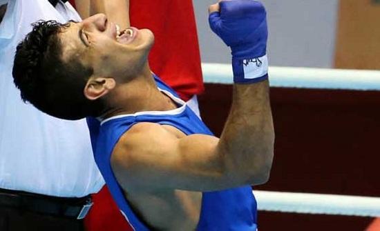 لاعب منتخب الملاكمة الكسبة يتأهل للدور النهائي ببطولة التشيك