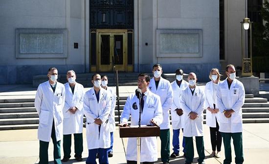 طبيب ترمب: الرئيس بإمكانه العمل من البيت الأبيض
