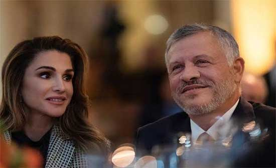 الملك والملكة يطمئنان هاتفيا على صحة رئيس الديوان الاسبق اللوزي