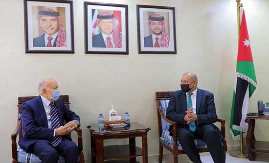 رئيس مجلس النواب يلتقي السفير المغربي
