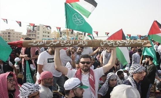 """احتفالات واسعة في دول عربية بـ""""انتصار غزة"""" .. بالفيديو"""