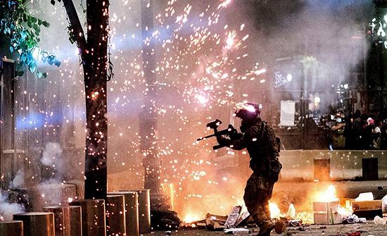 """""""انتخابات ليست كسابقاتها"""".. بورتلاند تحت خطر عنف مسلح"""