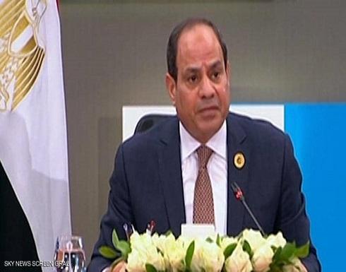 السيسي: مبادرة القاهرة تهدف لاستعادة دور المؤسسات في ليبيا