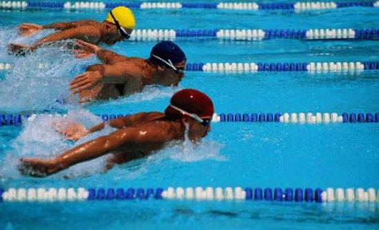 المهايرة يحتل المرتبة الأولى بدورة المدربين الدولية للسباحة