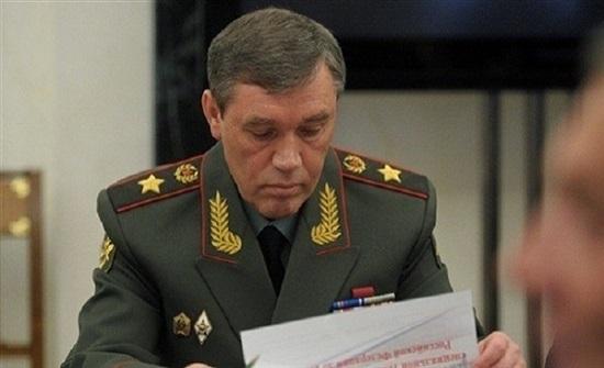 رئيس الأركان الروسي يبحث مع نظيره الأمريكي القضايا المشتركة