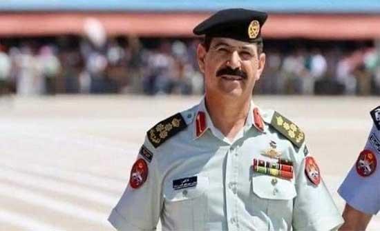 القيادة العامة للقوات المسلحة تشارك بتشييع جثمان العميد الركن الشوابكة