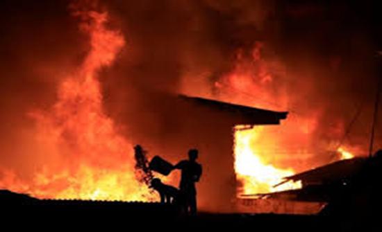 إجلاء 1069 شخصا بسبب حريق جنوبي الصين