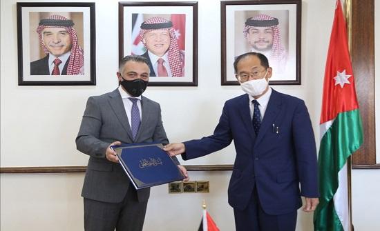 وزير التخطيط يشيد بدعم اليابان المتواصل للاردن