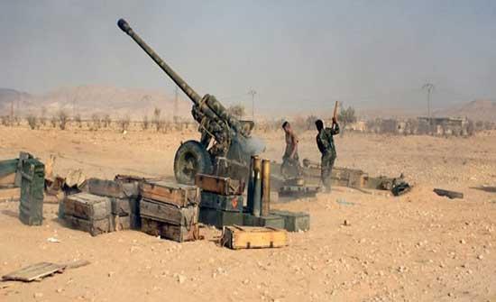 قوات النظام تشتبك مع الفصائل في ريف اللاذقية وتجدد القصف على ريف إدلب