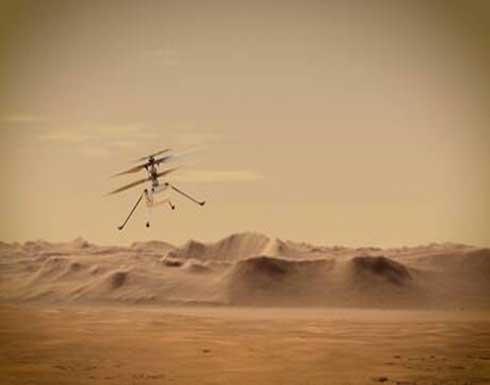 ناسا : أول طائرة هيلوكبتر تطير على المريخ .. شاهد