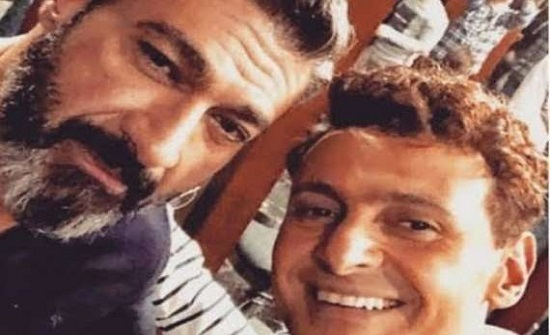 معلقًا على وعكته الصحية فيديو نادر يجمع «رامز جلال» مع شقيقه «ياسر جلال»