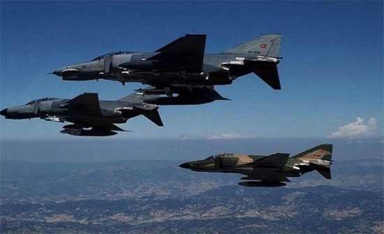 مقاتلات اسرائيلية تحلق بكثافة فوق الاجواء اللبنانية