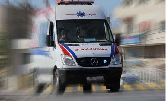 وفاة شخص وإصابة أربعة آخرين اثر حادث تصادم في اربد