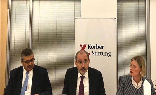 وزير الخارجية يستعرض سياسات المملكة إزاء التطورات الإقليمية في برلين