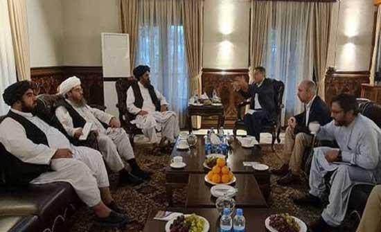 """مدير """"الصليب الأحمر"""" يبحث مع قادة """"طالبان"""" في كابل توسيع أنشطة المنظمة في أفغانستان"""