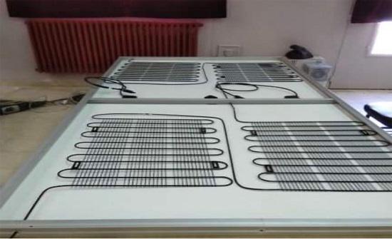 مدرسة المفرق الصناعية تطور نظاما شمسيا بعملية التبريد المائي