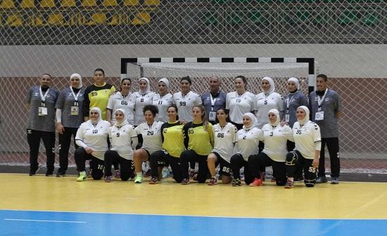 منتخب اليد للسيدات يفوز على فلسطين في افتتاح البطولة الآسيوية