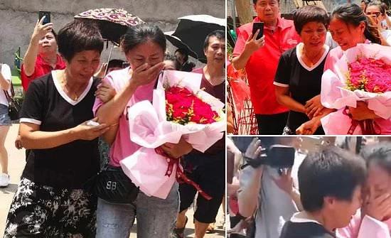 شاهد: في الصين بعد 30 عامًا على اختطافها.. عادت لوالديها أمًّا لثلاثة أطفال
