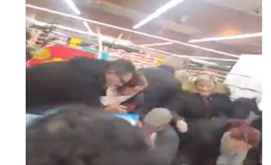 مشاجرة عنيفة في فرنسا بين المتسوقين على الـ«نوتيلا» (فيديو)
