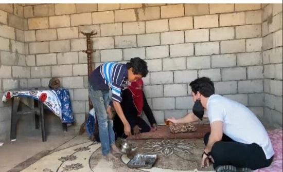 ولي العهد يوعز بتأهيل منازل في قرية بئر مذكور