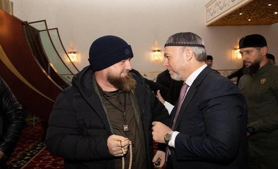 بولاد يُشارك بحفل تنصيب الرئيس الشيشاني - صور