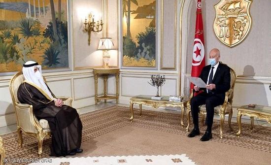 رسالة أميرية خطيّة من الكويت إلى الرئيس التونسي قيس سعيّد