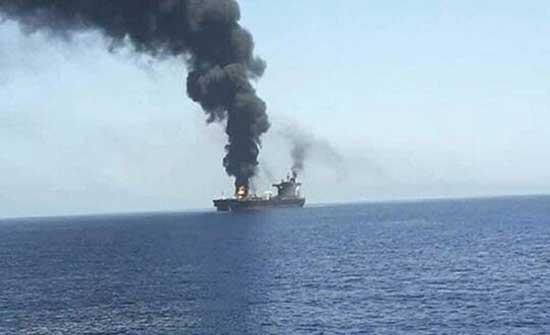 تل أبيب: إيران مسؤولة عن استهداف سفينة الشحن الإسرائيلية في المحيط الهندي