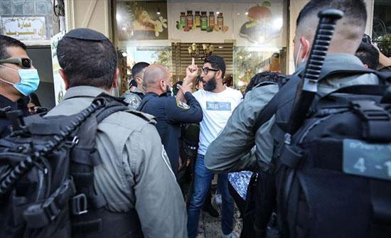 """إسرائيل تعتقل 6 متظاهرين احتجوا على مقتل """"معاق"""" فلسطيني"""