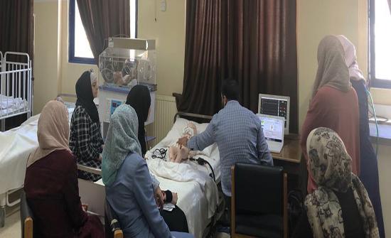 جامعة الزرقاء تعقد دورة تدريبية عن استخدام أجهزة المحاكاة الالكترونية
