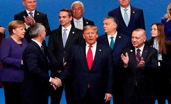 فيديو صادم.. قادة يسخرون من ترامب بقمة الناتو (شاهد)