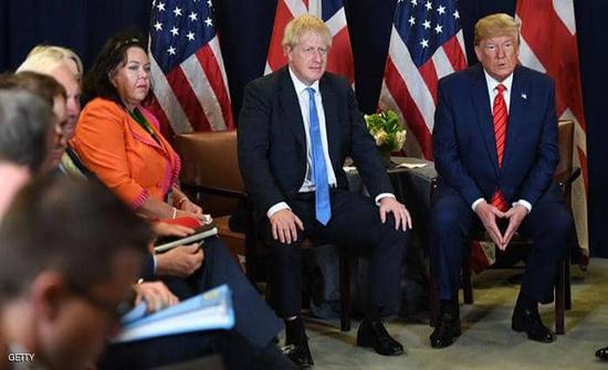 "ترامب يتعهد بـ""اتفاق استثنائي"" مع بريطاني بعد بريكست"
