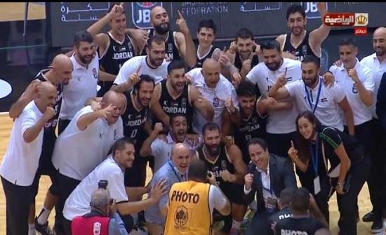 """""""صقور الأردن"""" بطل كأس الملك عبد الله لكرة السلة"""